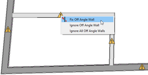 Fix Off Angle Wall when selecting a wall