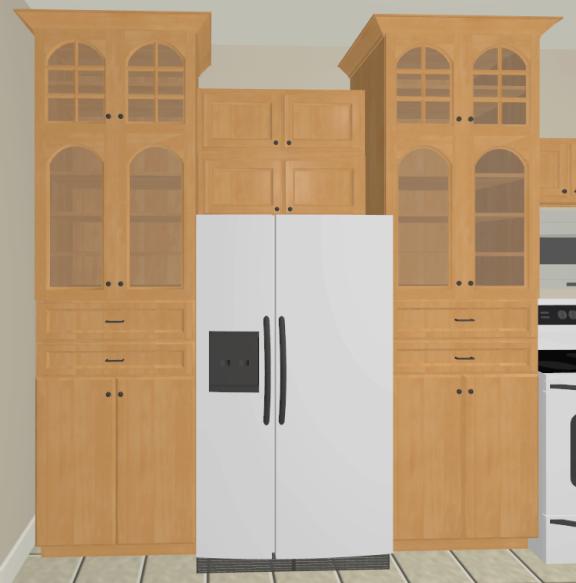 Cambridge Cabinet Door Style: Creating Different Door Styles On A Cabinet In Home