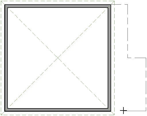 Floor plan view showing Room Divider walls being drawn
