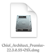 Apple macOS installer file for Chief Architect Premier