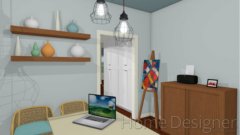 Custom pictures added a paint canvas and a picture frame