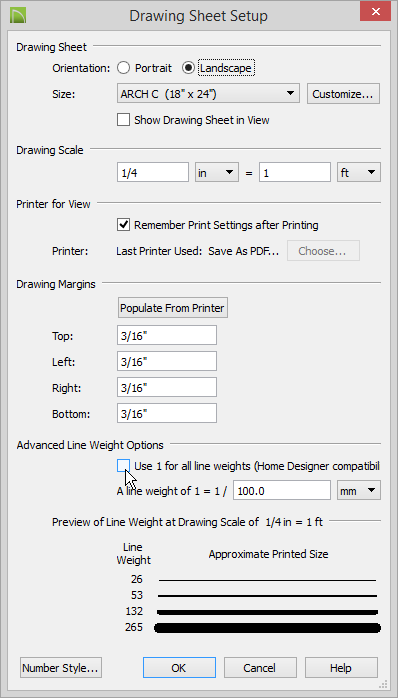 autocad remove lineweight in pdf underlay