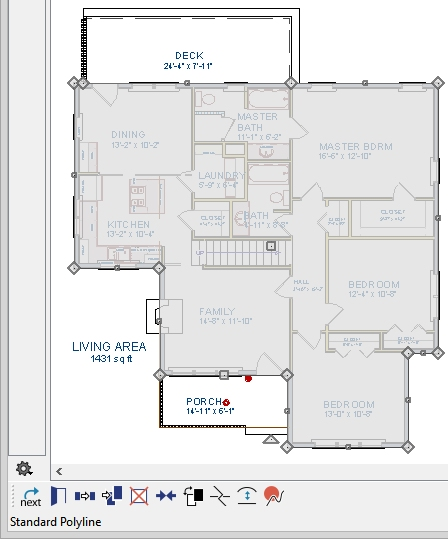 Calculating floor plan square footage home fatare for Floor plans you can edit