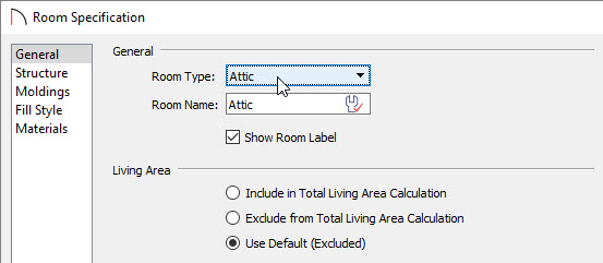 Setting the attic rooms