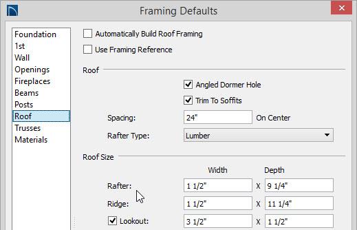Creating Exposed Trusses In Home Designer Pro