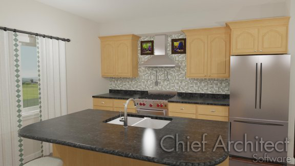 using the set as default tool to change cabinet styles - Chief Architect Interior Design