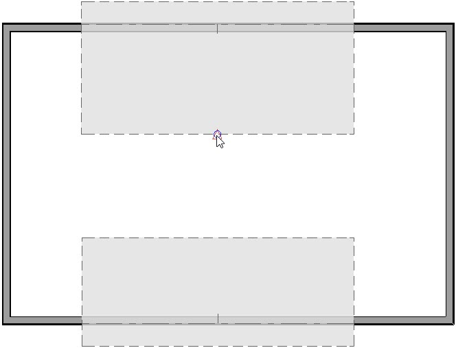Click on the Join Roof Planes tool and then click on the roof ridge of the opposite roof plane