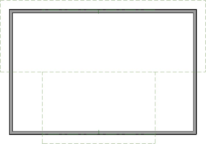 Adjusting the width of roof planes