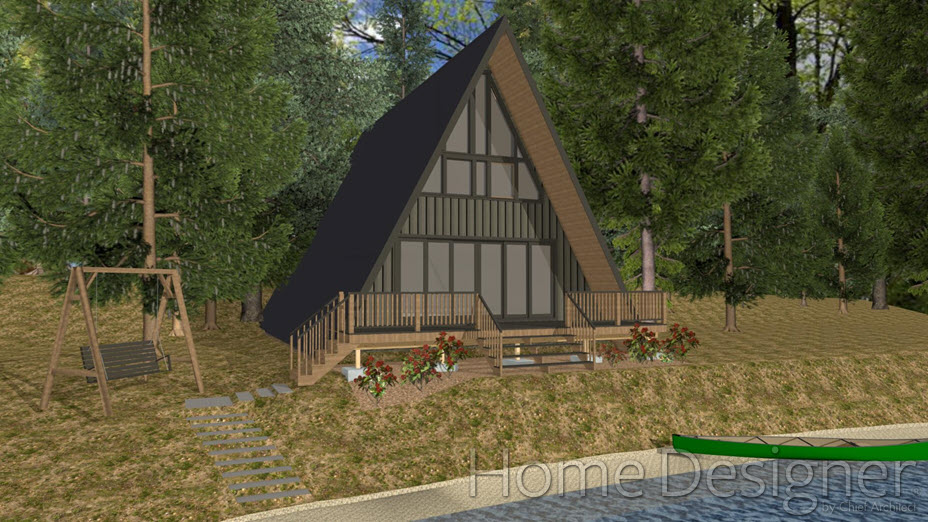 A-frame stucture