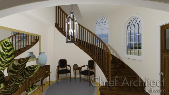 Creating Curved Or Spiral Staircases