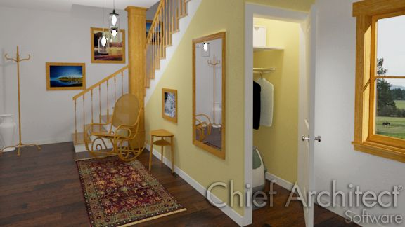 room under stair