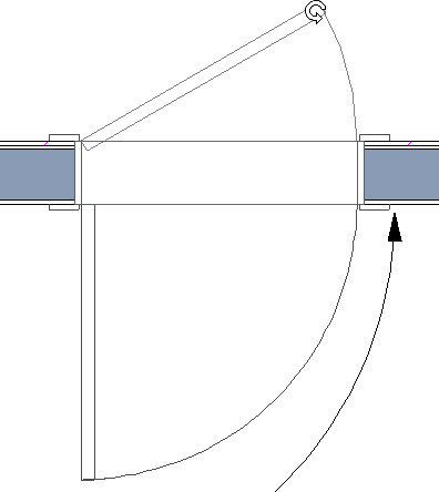 how to change door swing in chief architect