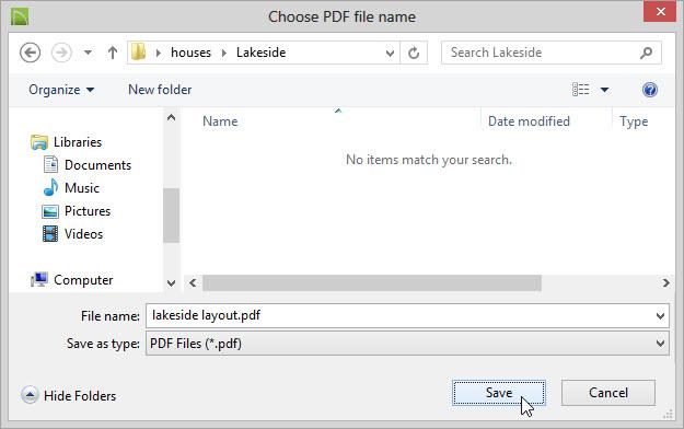 snag it saving to pdf file