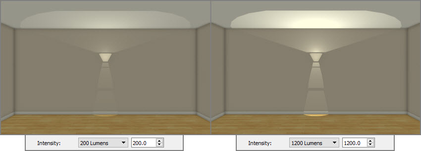 Adjusting the Intesity of a sconce light fixture