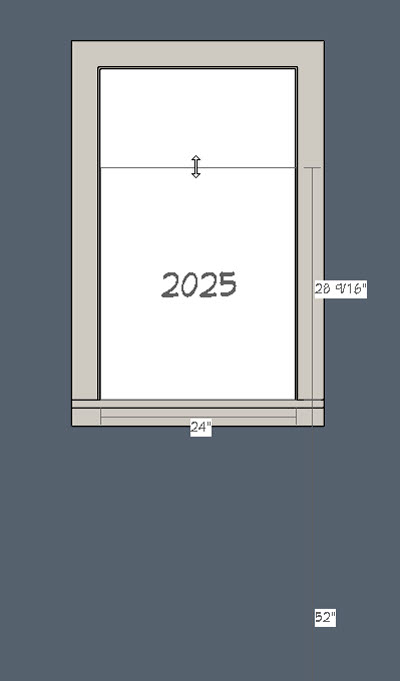 changing the dimentions of the doorway