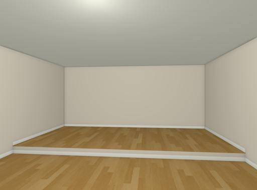 """Camera view of smaller room with floor raised up 8"""""""