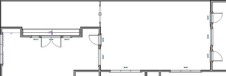 Adding a doorway between deck rooms