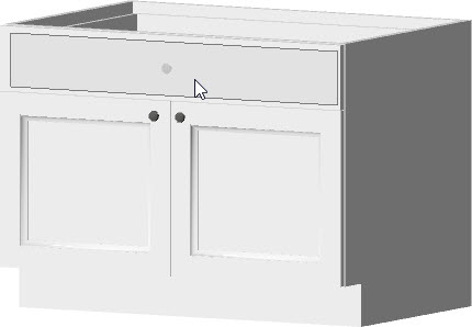 support article KB placing an apron sink.