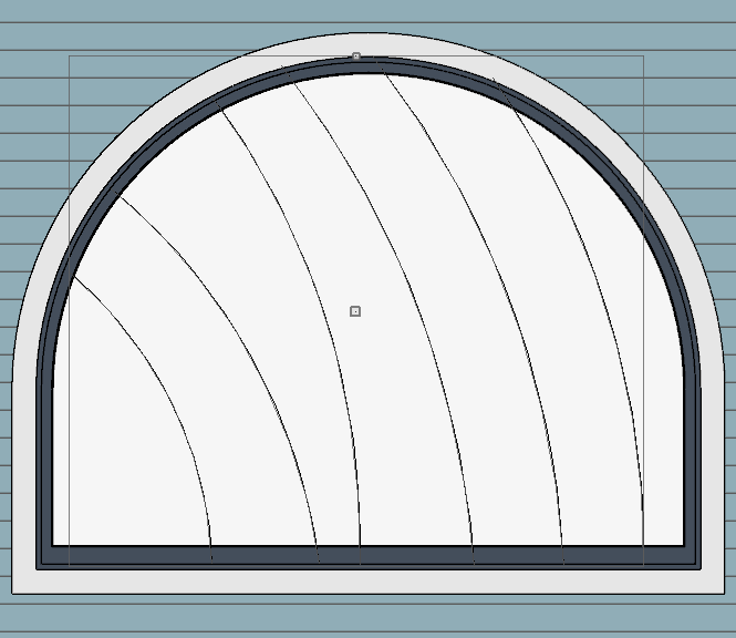 using cad lines to draw your muntin design