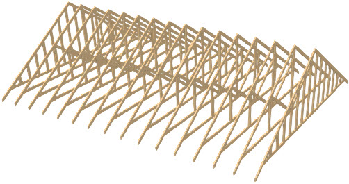 Creating Roof Trusses