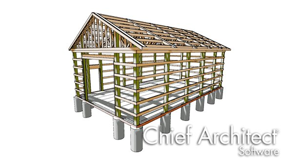 Designing A Traditional Pole Barn Structure
