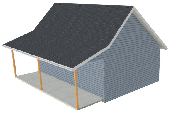 Creating An Attached Porch