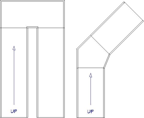 Ramp examples in floor plan