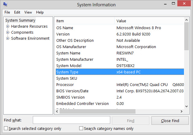 how to tell if your computer is 64 bit