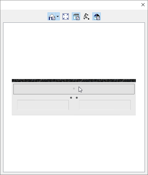 Selecting the Drawer at the top of the 3D preview