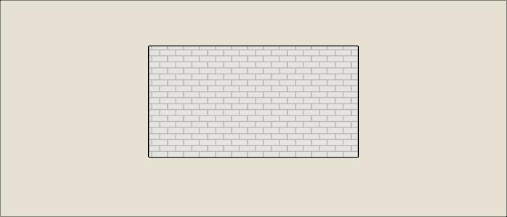 Custom backsplash placed onto the wall
