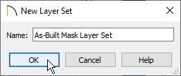 New Layer Set dialog