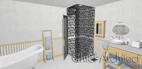Creating A Steam Shower In Home Designer