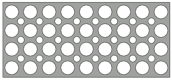 Holes in a Polyline Solid railing panel