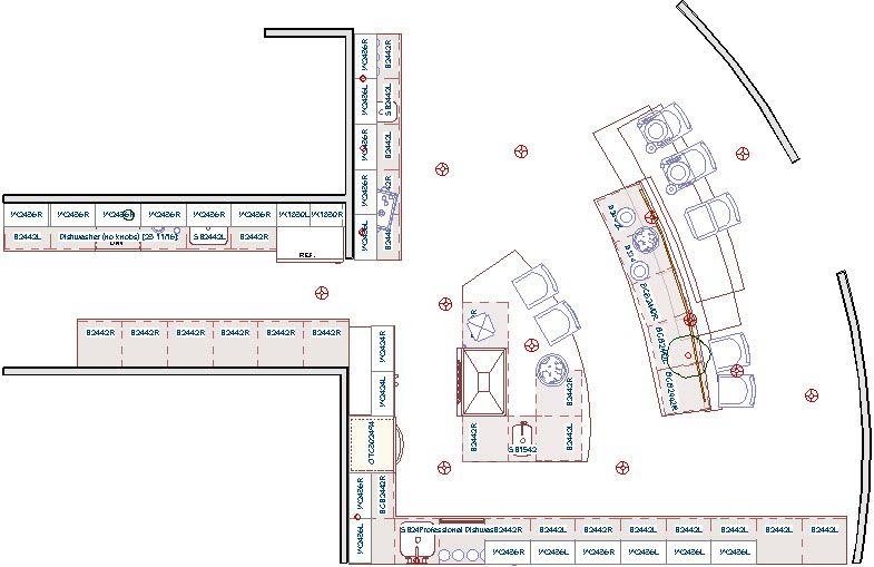 Floor plan with no room definition