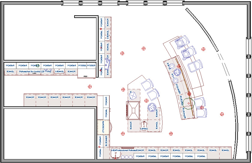 Enclosed area creating room definition