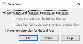 Build New Floor Dialog