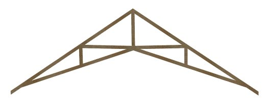 how to build scissor trusses