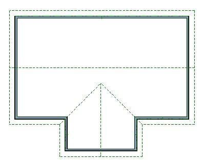 Joining A Barrel Roof To A Flat Roof Plane