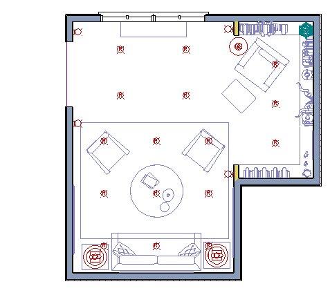 Adding interior lighting for Interior design lighting symbols