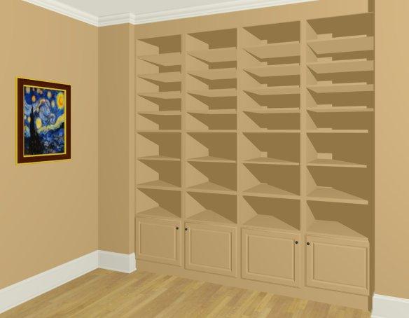 creating built in wall bookshelves - How To Build Built In Bookshelves