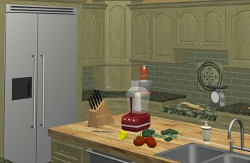Planning Kitchen Work Centers