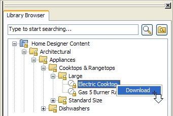 Obtaining Library Catalogs For Home Designer
