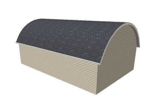 Creating A Barrel Roof