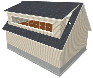 Drawing A Shed Dormer Manually
