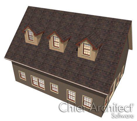 Build Different Roofs Home Designer Suite