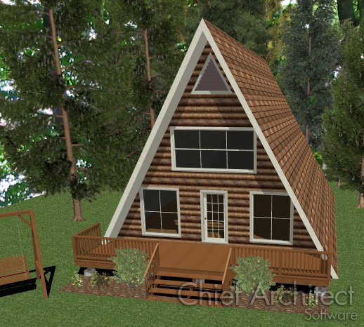 Building an a frame structure for What is a frame home