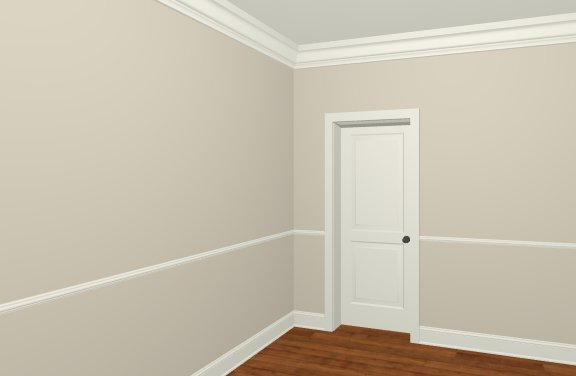 Front Elevation Molding : Assigning room moldings