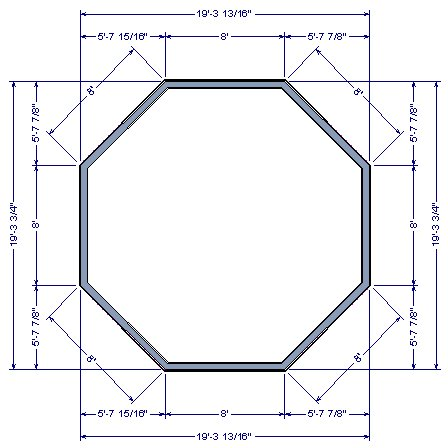 Drawing an Octagonal Structure