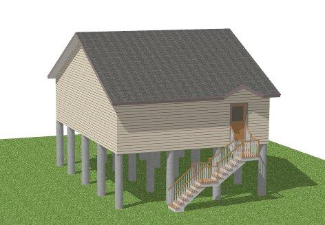 how to build a pier foundation