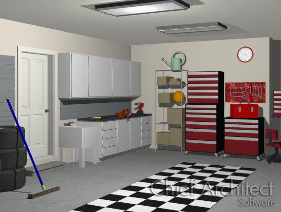 Creating A Garage Shop Space Interior Design Software For Shops